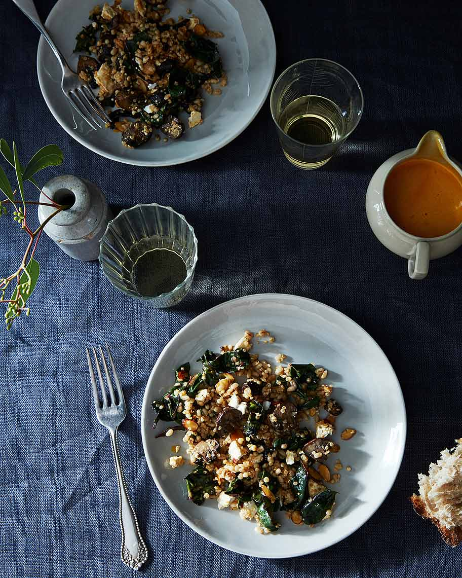 2016-0128_roasted-mushroom-chard-and-mixed-grains-salad-with-carrot-harissa-vinaigrette_james-ransom-029