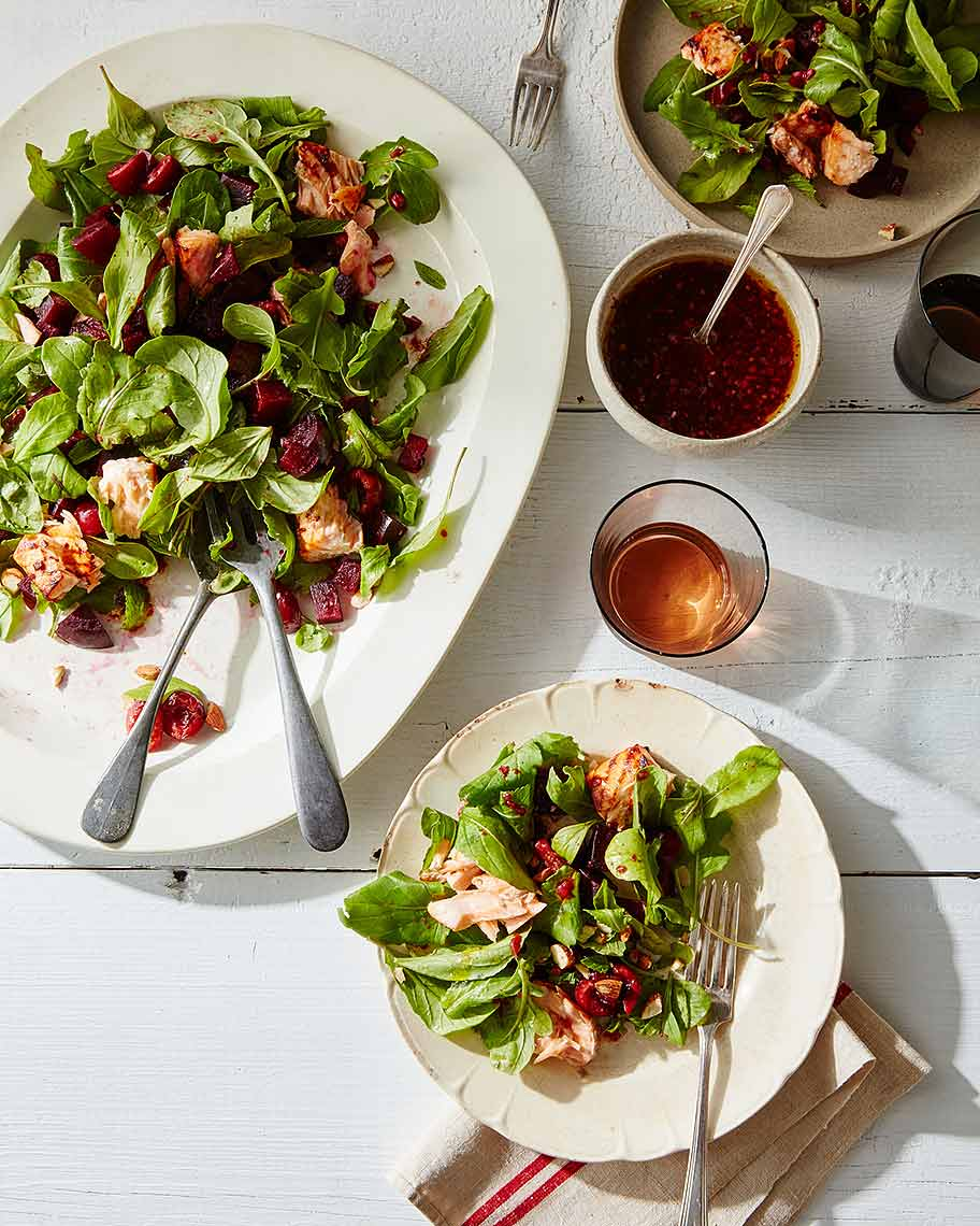 2016-0621_salmon-salad-with-roasted-beets-cherries-and-arugula_james-ransom-023