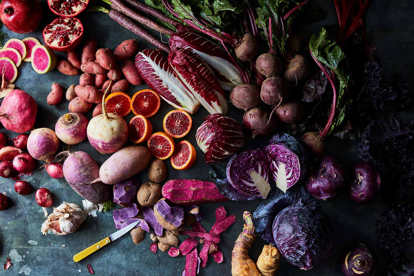 purple vegetable harvest bounty