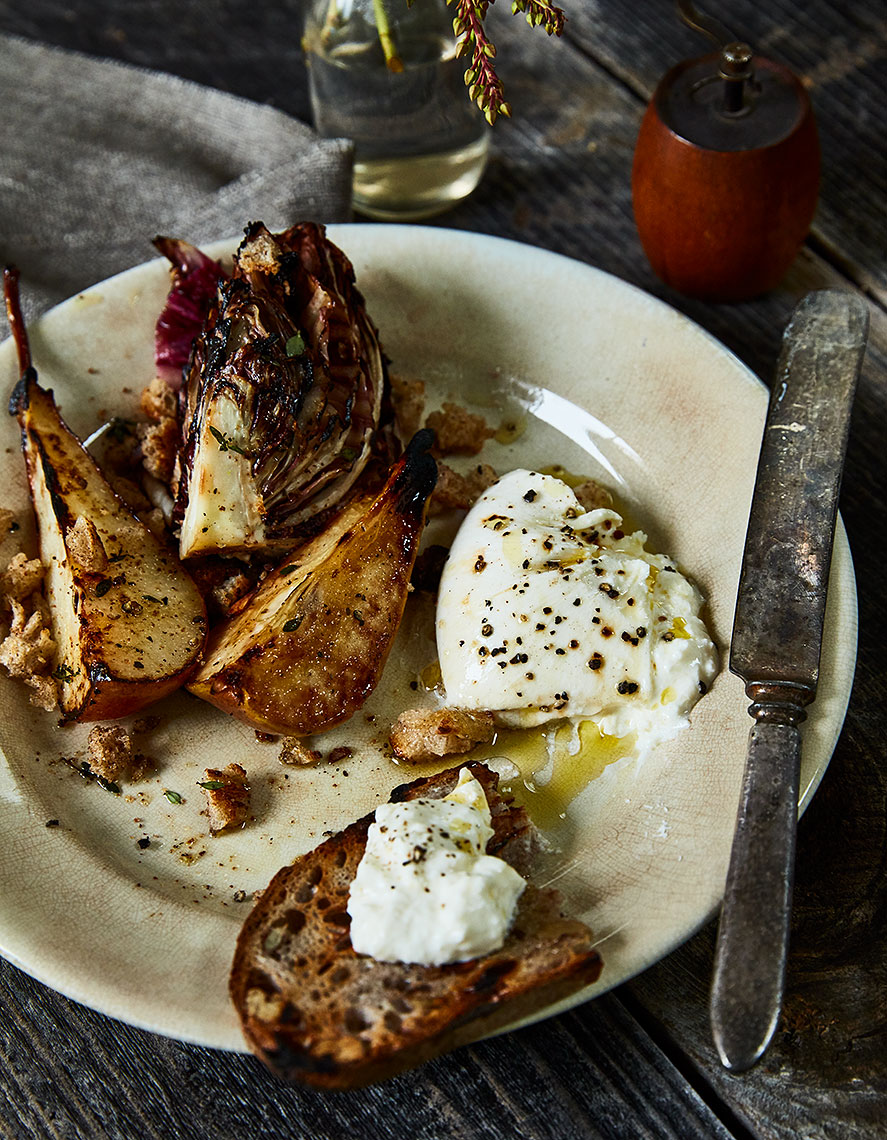 2017-0522_radicchio-and-pears-with-anchovy-bread-crumbs-and-burrata_james-ransom-0164